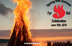 Official Logo for 2018 Fyr Bal