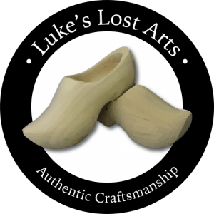 Luke's Lost Arts | Authentic Craftsman | Wooden Shoe Maker
