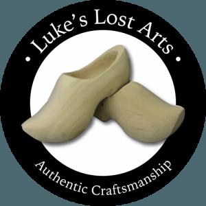Luke's Lost Arts | Authentic Craftsman | Wooden Shoe Maker